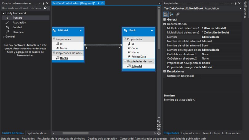 RelacionEntidades - ModelFirst