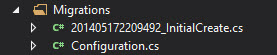 CodeFirst - InstalarMigrations