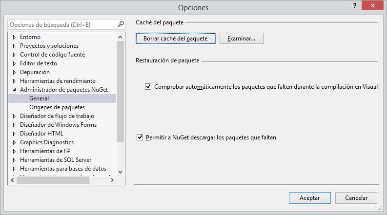 NugetRestore - Configurar VS