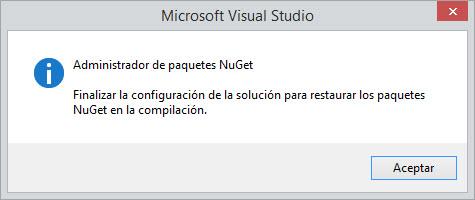NugetRestore - Resturacion configurada