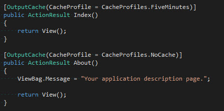 Cache - UsoClaseProfiles