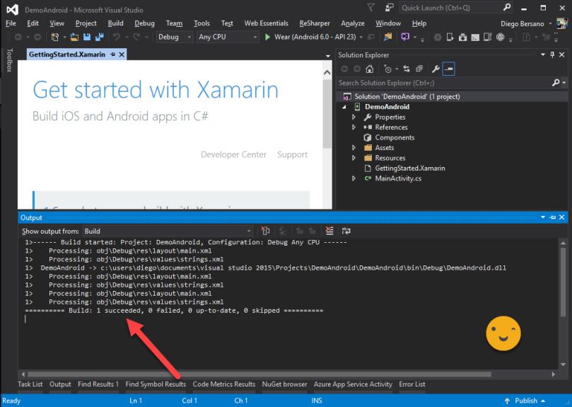 ConfiguracionXamarin - CompilacionOk