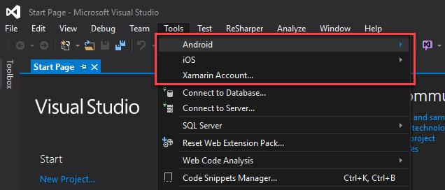 ConfiguracionXamarin - Tools