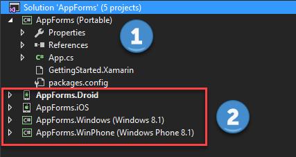 ¿Cómo crear una aplicaciónXamarin.Forms?