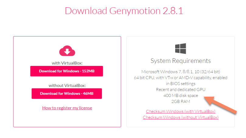 Genymotion - Download