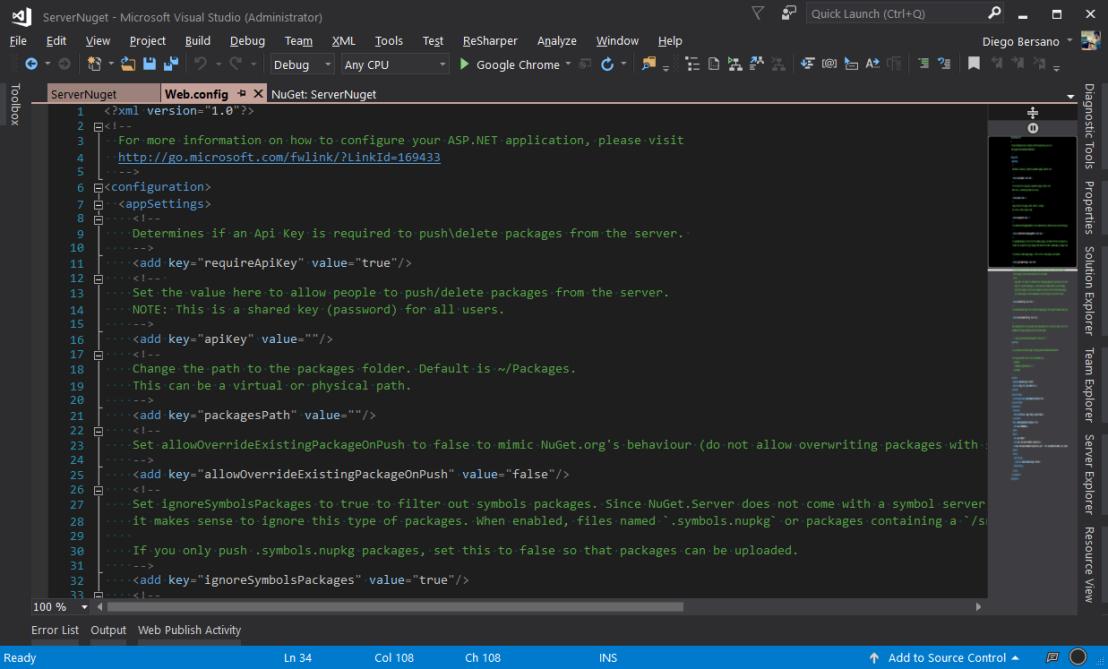 NugetServer - ConfiguracionesDisponibles.png
