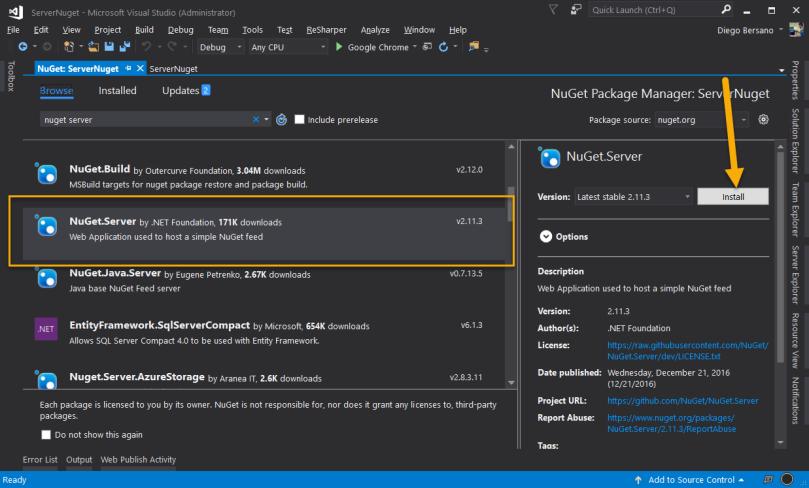 NugetServer - InstallServerPackage.png